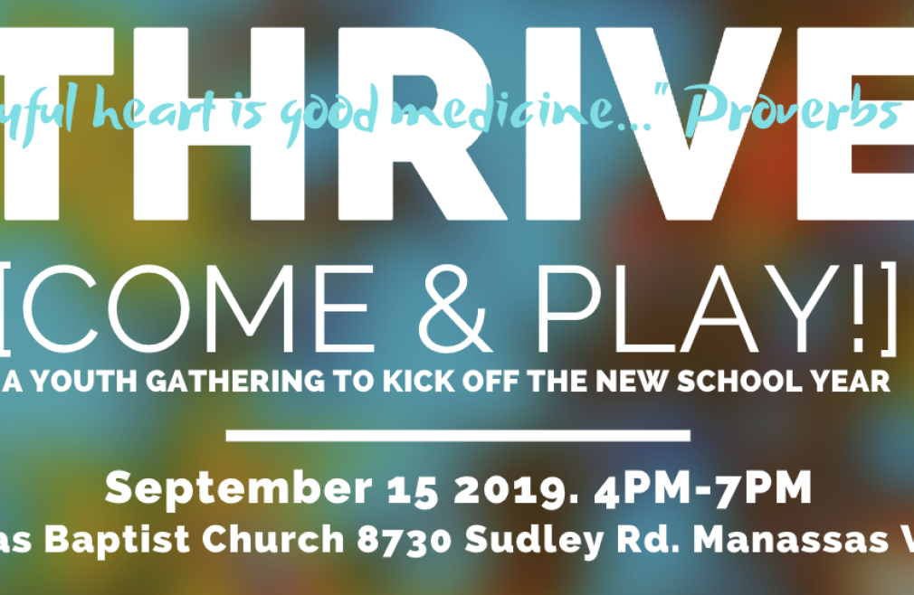 Thrive Youth Event